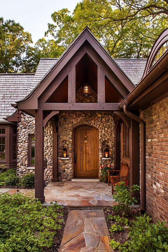 20 Embracing Rustic Entrance Designs You Wouldnt Be Able To Resist