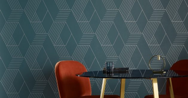 5 Patterned Wallpapers for the Dining Room