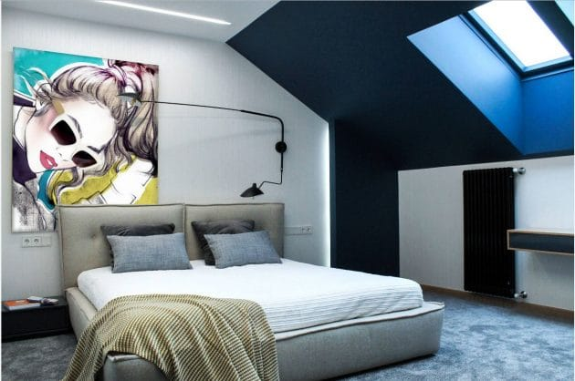 Attic Project by Pavel and Svetlana Alekseev in Kazan, Russia