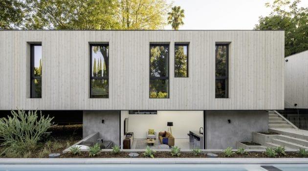 Bridge House LA by Dan Brunn Architecture in Los Angeles, California