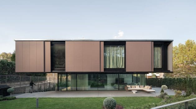 Eclipse House by I/O Architects in Sofia, Bulgaria