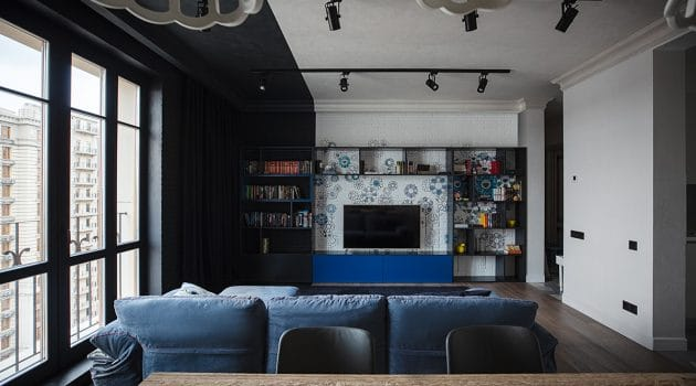 Franz Loft Project by Pavel and Svetlana Alekseev in Moscow, Russia