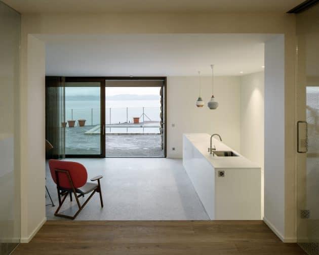 House in Hauterive, Switzerland by Bauzeit Architekten