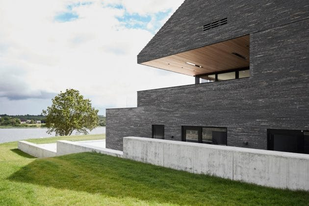 J House by Christoffersen & Weiling Architects in Denmark