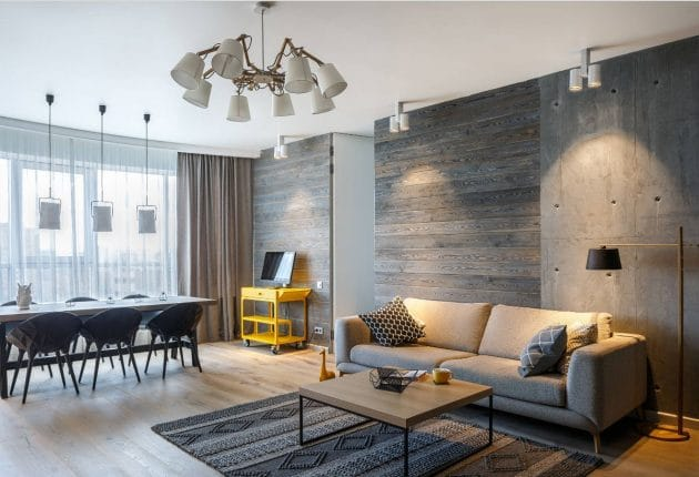 Just a loft by Pavel and Svetlana Alekseev in Russia