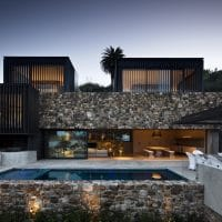 Local Rock House by Pattersons Associates Architects in New Zealand