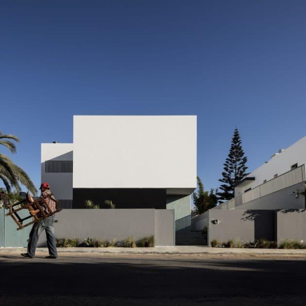 Villa Agava by Driss Kettani in Casablanca, Morocco