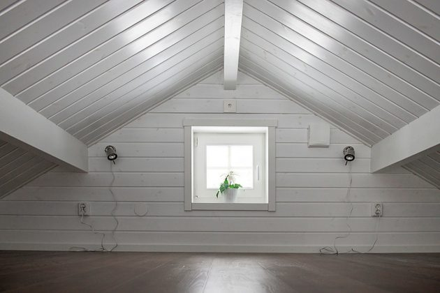 Beautiful Black Cabin In The Swedish Mountains