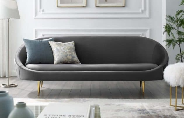 incredible 2020 modern design leather sofa living room furniture | 2020 Sofa Trends: The Latest Styles, Colors, and Materials