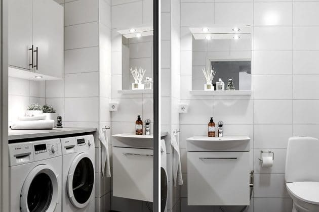 YES To The Washer And Dryer In The Bathroom + Home Tour