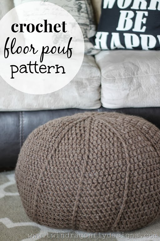 15 Amazing DIY Floor Pouf Projects For That Cozy Corner Of Your Home