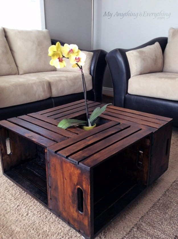 Pallet Crate Ottoman