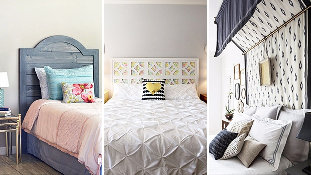 15 Genius DIY Headboard Designs Your Bedroom Could Use