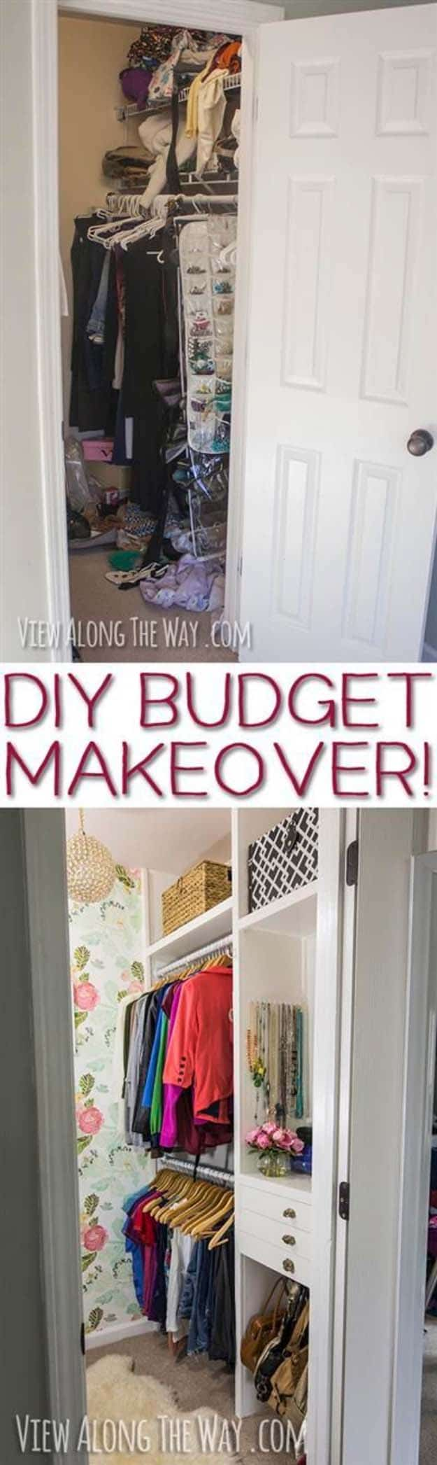 15 Space-Saving Closet Makeover Hacks You Must Try