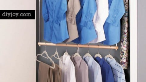 15 Space Saving Closet Makeover Hacks You Must Try
