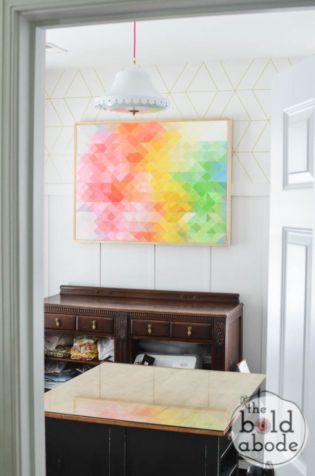 16 Eye-Catching DIY Wall Art Projects Suitable For Any Room