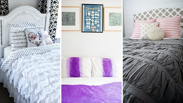 17 Charming DIY Duvet Ideas For Your Bedroom
