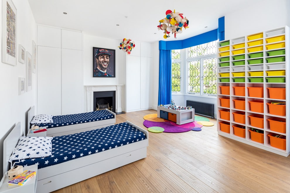 17 Wonderful Modern Kids Room Interiors For All Ages