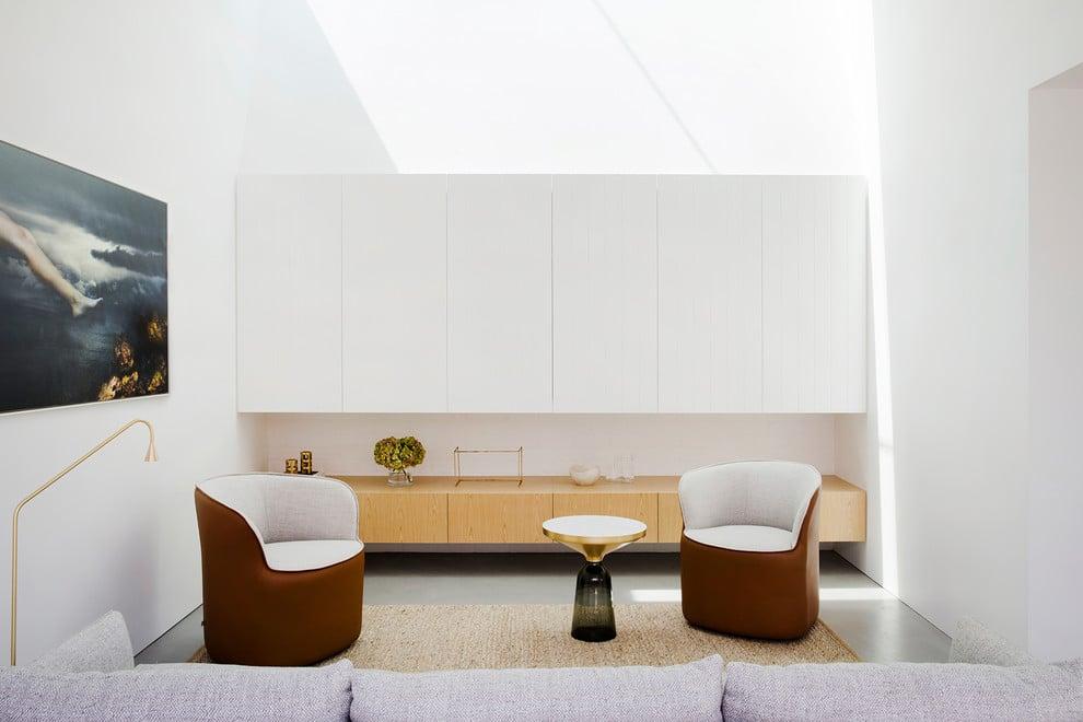 superb living room in home attic design | 18 Superb Modern Living Room Interiors Designed For Peace ...