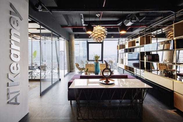 AT Kearney Office by Iglo Architects in Istanbul, Turkey