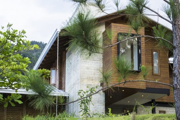 Bosque House by A20 Arquitectos in Jarabacoa, Dominican Republic