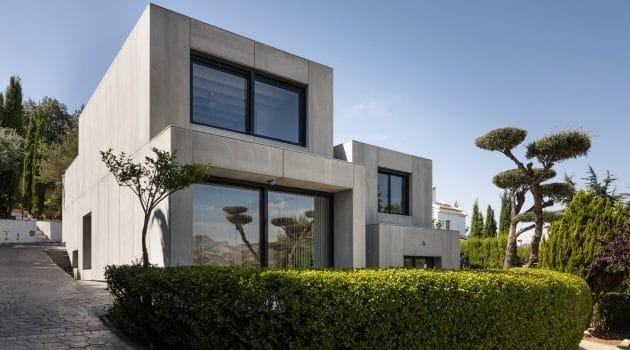 C&C House by Arias Recalde Taller de Arquitectura in Dudar, Spain
