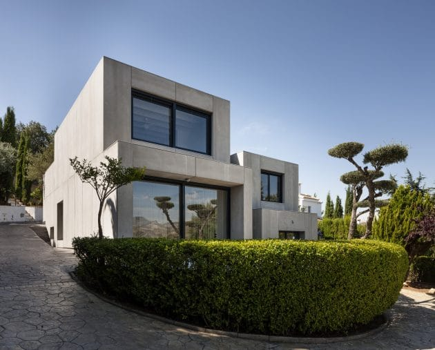 C&C House by Arias Recalde Taller de Arquitectura in Dudar, Spain