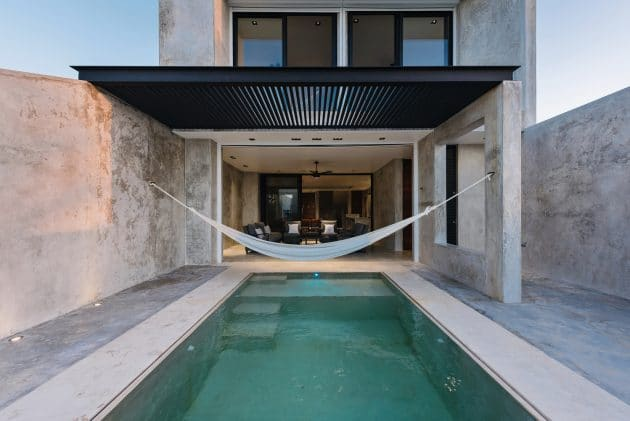 Chuburna House by Cabrera Arquitectos in Chuburna, Mexico