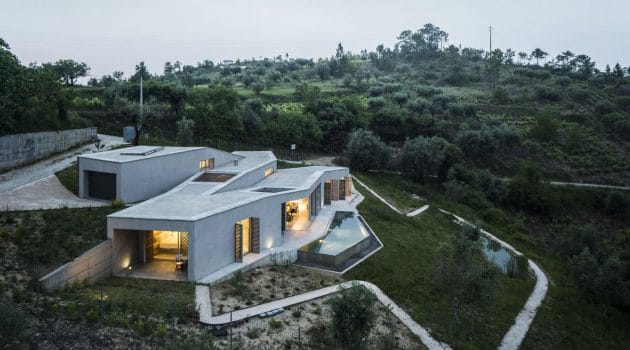 House in Gateira by Camarim Arquitectos in Penela, Portugal