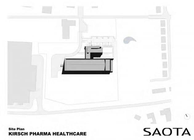 Kirsch Pharma HealthCare's new factory in Germany designed by SAOTA
