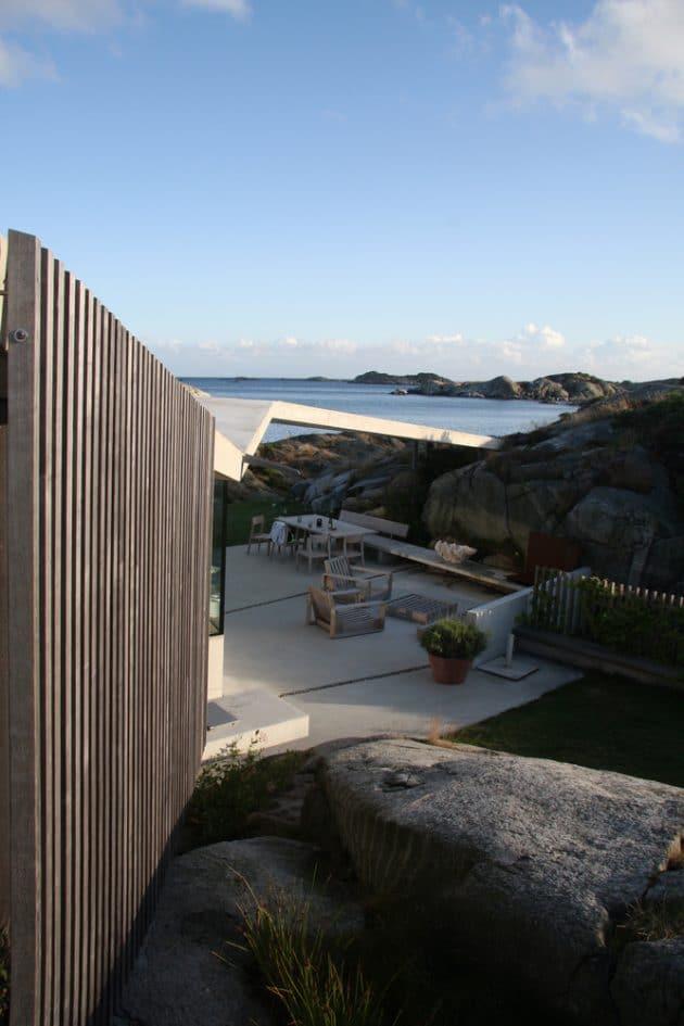 Lyngholmen by Lund Hagem in Lillesand, Norway