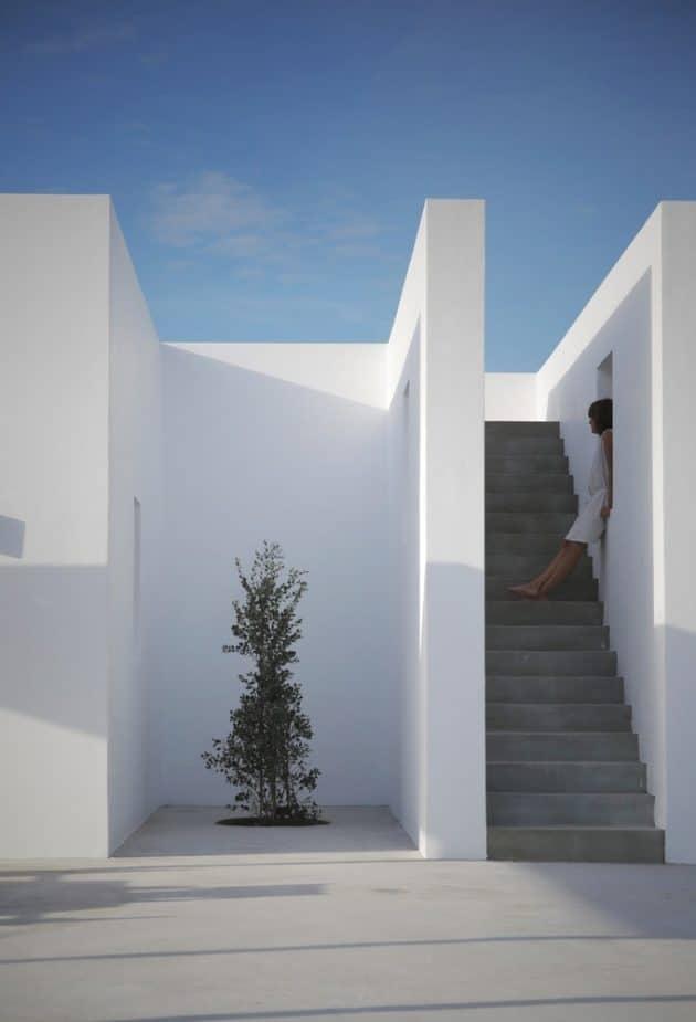 Maison Kamari by React Architects on the Island of Paros, Greece