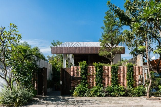 Nest House by QBi Corp. in Vietnam