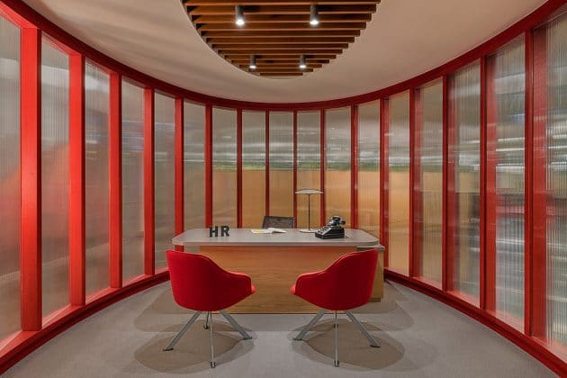 Petrol Ofisi Headquarters by Lagranja Design in Istanbul, Turkey