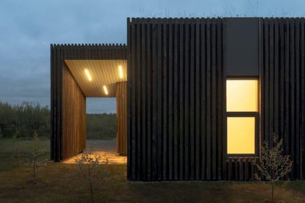 Vacation Cottages by PK Arkitektar in Iceland