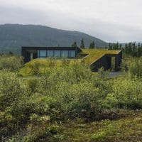 Vacation Cottages by PK Arkitektar in Iceland