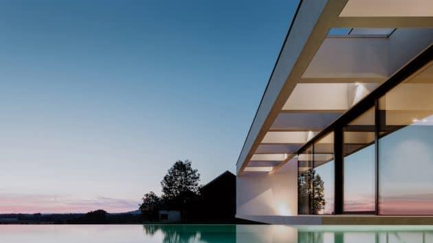 Villa Schatzlmayr by Philipp Architekten in Passau, Germany