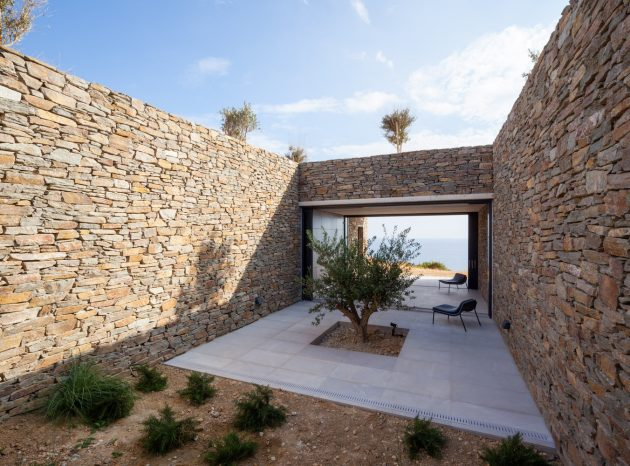 Voronois Corrals by decaARCHITECTURE on the Island of Milos, Greece