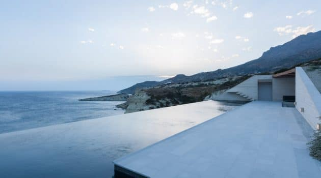 Voronoi's Corrals by decaARCHITECTURE on the Island of Milos, Greece