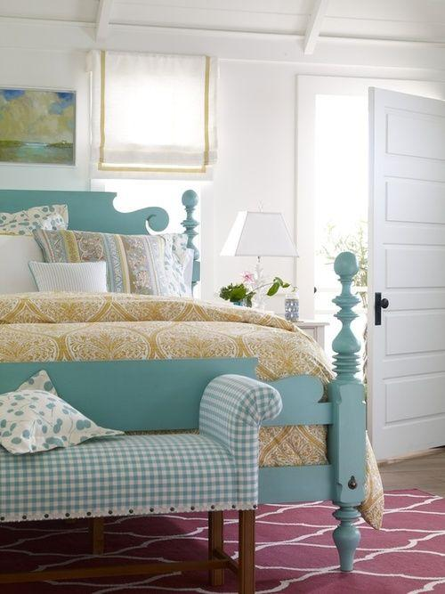 Turquoise / Tiffany Rooms For You to Be Inspired