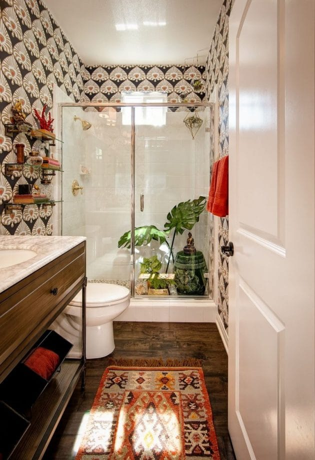 Decoration Ideas for a Bohemian Bathroom
