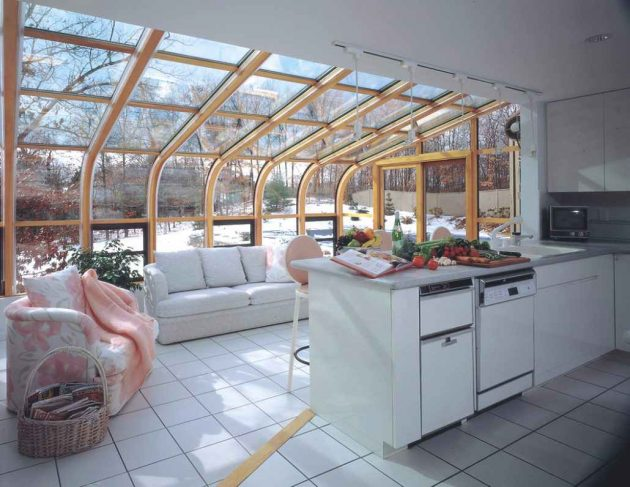 Glass Roof Advantages and Ideas for Inspiration