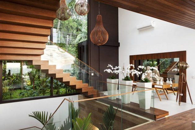 Modern Wooden Stairs for Your Project
