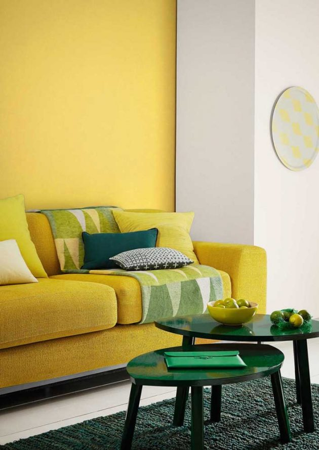 Yellow Room - Inspirations and How to Decorate