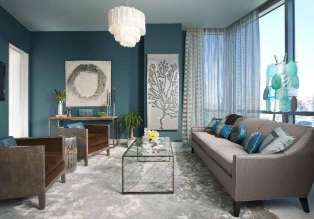 The Best Internet References in Decorating Walls with Blue Tones