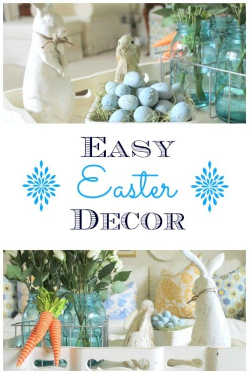 15 Cheerful DIY Easter Decor Ideas For The Entire Family