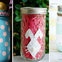15 Sweet Easter Mason Jar Decoration Ideas You Can DIY