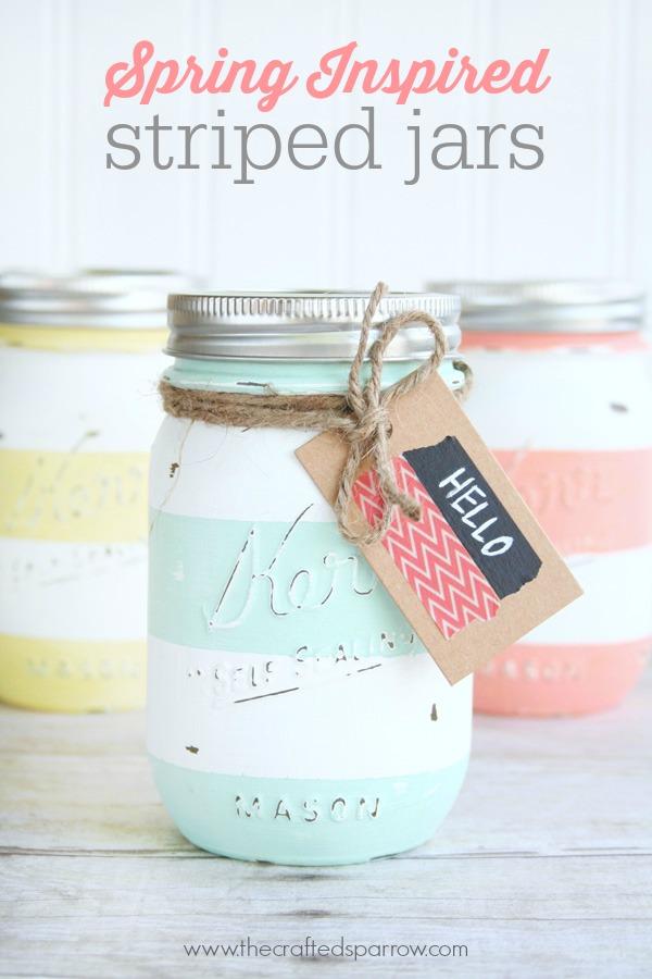 15 Sweet Easter Mason Jar Decoration Ideas You Can DIY