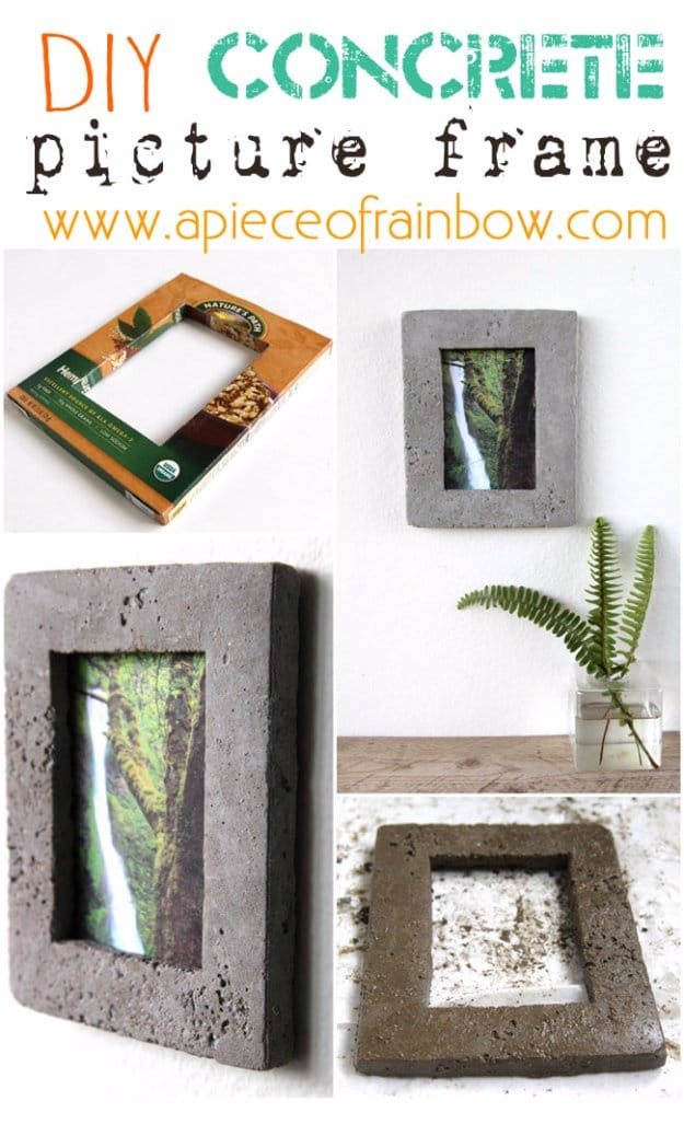 16 Simple Concrete Crafts For Your Home Decor