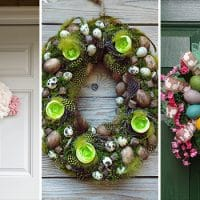 16 Whimsical Easter Wreath Designs You Should Hang On Your Door